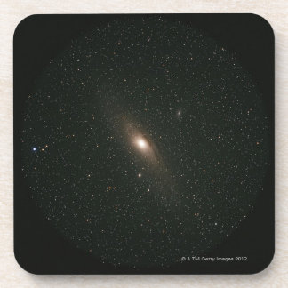 The Andromeda Galaxy Beverage Coasters