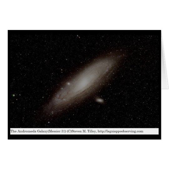 The Andromeda Galaxy (M31) Card