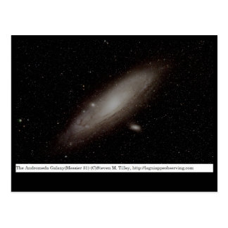 The Andromeda Galaxy (M31) Postcard