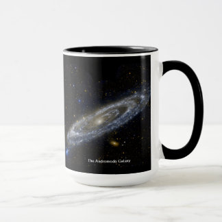 The Andromeda Galaxy Mug