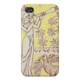 The Angel Blowing the Trumpet Cover For iPhone 4