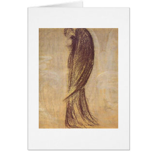 The Angel by M.K. Ciurlionis, 1904-5 Greeting Card