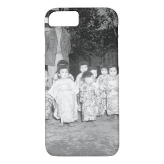 The Angel Guardian Home, a Catholic_War Image iPhone 7 Case