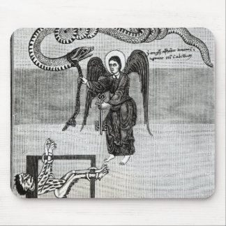 The Angel, holding the Keys of Hell Mouse Pad