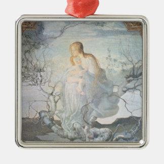 The Angel of Life, 1894 Christmas Ornament