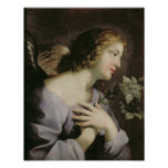 The Angel of the Annunciation, c.1650 Print