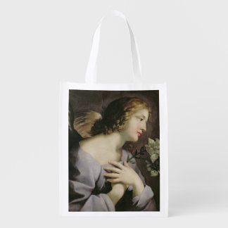 The Angel of the Annunciation, c.1650 Reusable Grocery Bag