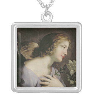 The Angel of the Annunciation, c.1650 Silver Plated Necklace