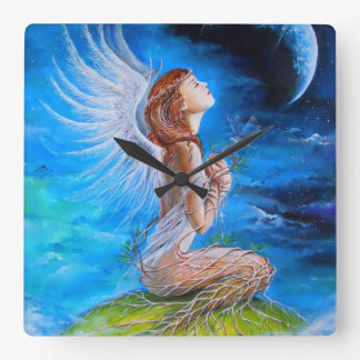 The Angel s Prayer Wallclocks