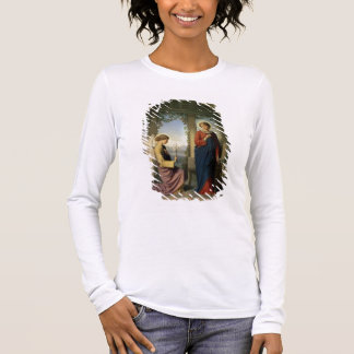 The Angelic Salutation, or The Annunciation, 1860 Long Sleeve T-Shirt