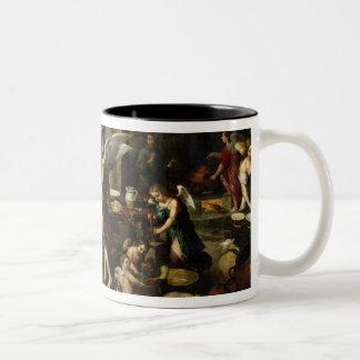 The Angels' Kitchen, 1646 Two-Tone Mug