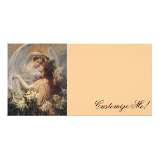 *The Angel's Message* by George Hillyard Swinstead Personalised Photo Card