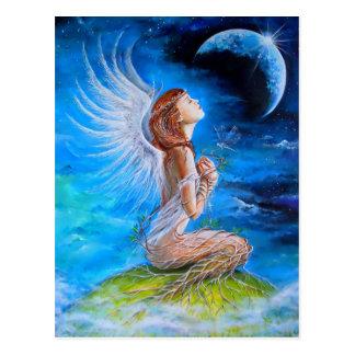 The Angel's Prayer Postcard