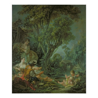 The Angler, 1759 Poster