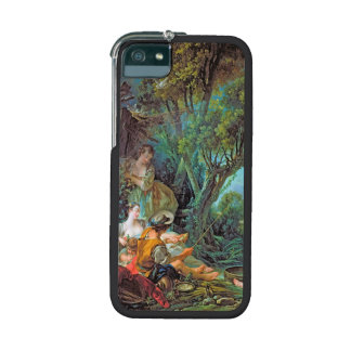 The Angler  Boucher Francois rococo scene painting iPhone 5/5S Covers