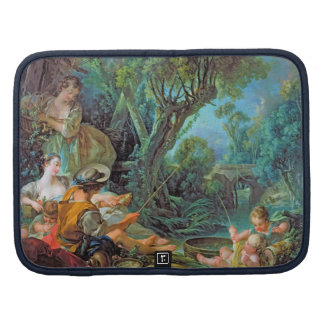 The Angler  Boucher Francois rococo scene painting Organizers