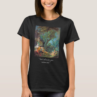 The Angler  Boucher Francois rococo scene painting T-Shirt
