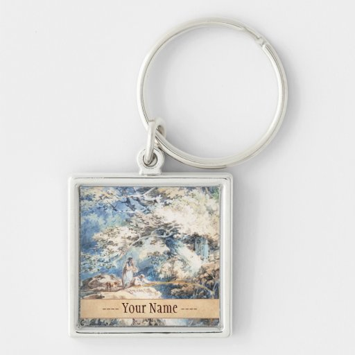 The Angler Joseph Mallord William Turner ART Keychains