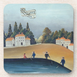 The anglers, c.1908-09 (oil on canvas) beverage coasters