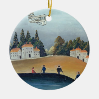 The anglers, c.1908-09 (oil on canvas) christmas ornament