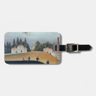 The anglers, c.1908-09 (oil on canvas) luggage tag