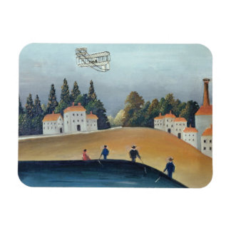 The anglers, c.1908-09 (oil on canvas) rectangular photo magnet