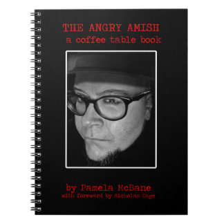 The Angry Amish: A Coffee Table Book Notebook