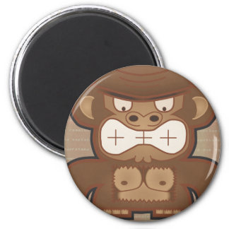 The Angry Donkey Monkey - Muted Magnet