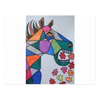 The Angry Horse Postcard