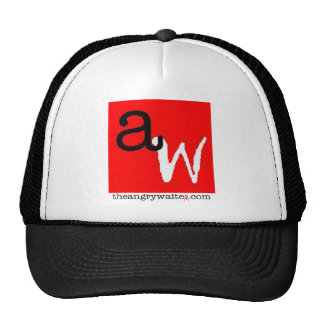 The Angry Waiter Hat - Red Square