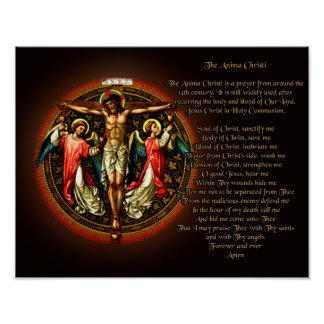 The Anima Christi Poster
