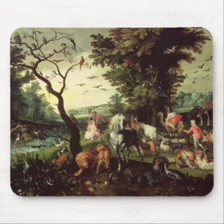 The Animals Entering Noah's Ark Mouse Pad