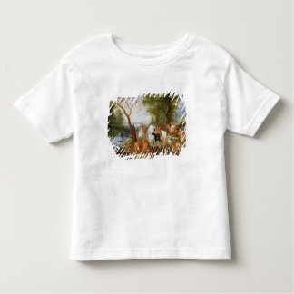 The Animals entering Noah's Ark Toddler T-Shirt