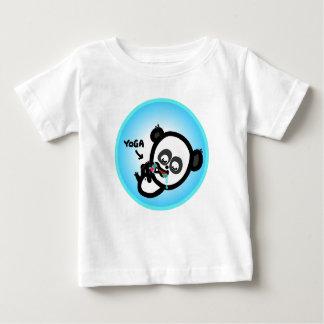 The Animated Baby - Yoga Panda Baby T-Shirt
