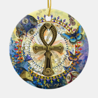 The Ankh Christmas Ornament