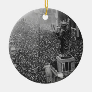 The Announcing of the Armistice 11.11.1918 Christmas Ornament