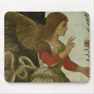 The Annunciating Angel Gabriel Mouse Mat