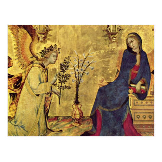 The Annunciation 13th century Postcard