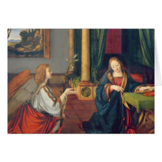 The Annunciation, 1506 Card