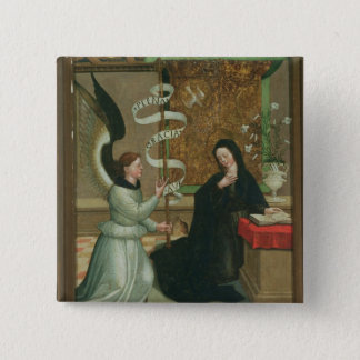 The Annunciation 15 Cm Square Badge