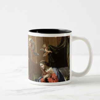 The Annunciation, 1651-52 Two-Tone Coffee Mug