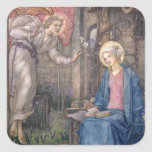 The Annunciation 2 Square Sticker