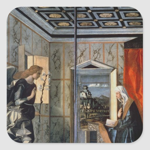 The Annunciation 2 Stickers