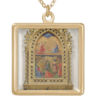 The Annunciation and the Adoration of the Magi (te Gold Plated Necklace