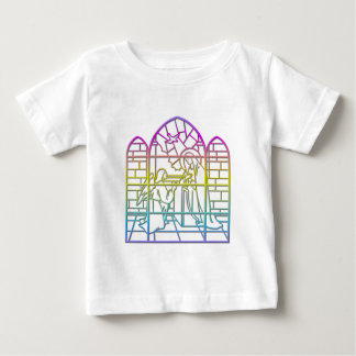 The Annunciation ( Blessed Virgin Mary & Angel ) Baby T-Shirt