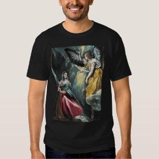 The Annunciation by El Greco Shirts