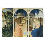 The Annunciation by Fra Angelico Greeting Card
