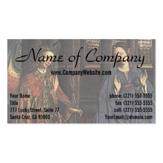The Annunciation by Jan van Eyck Pack Of Standard Business Cards