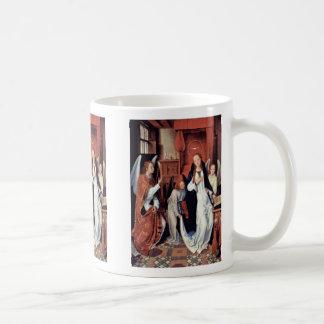 The Annunciation By Memling Hans Coffee Mug