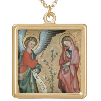 The Annunciation, c.1330 (oil on panel) Necklaces